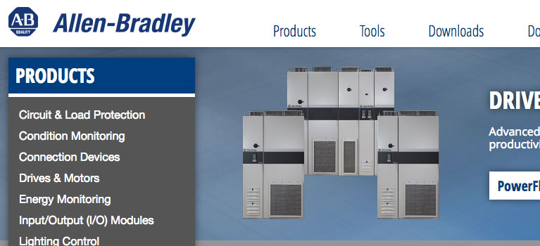 Allen-Bradley Website