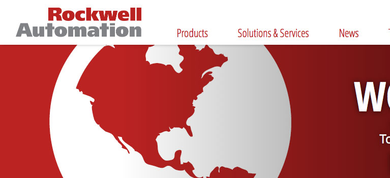 Rockwell Automation Website